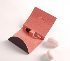 Caja para muestras de perfume