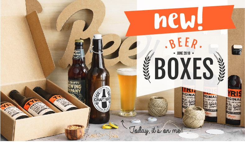 beer boxes